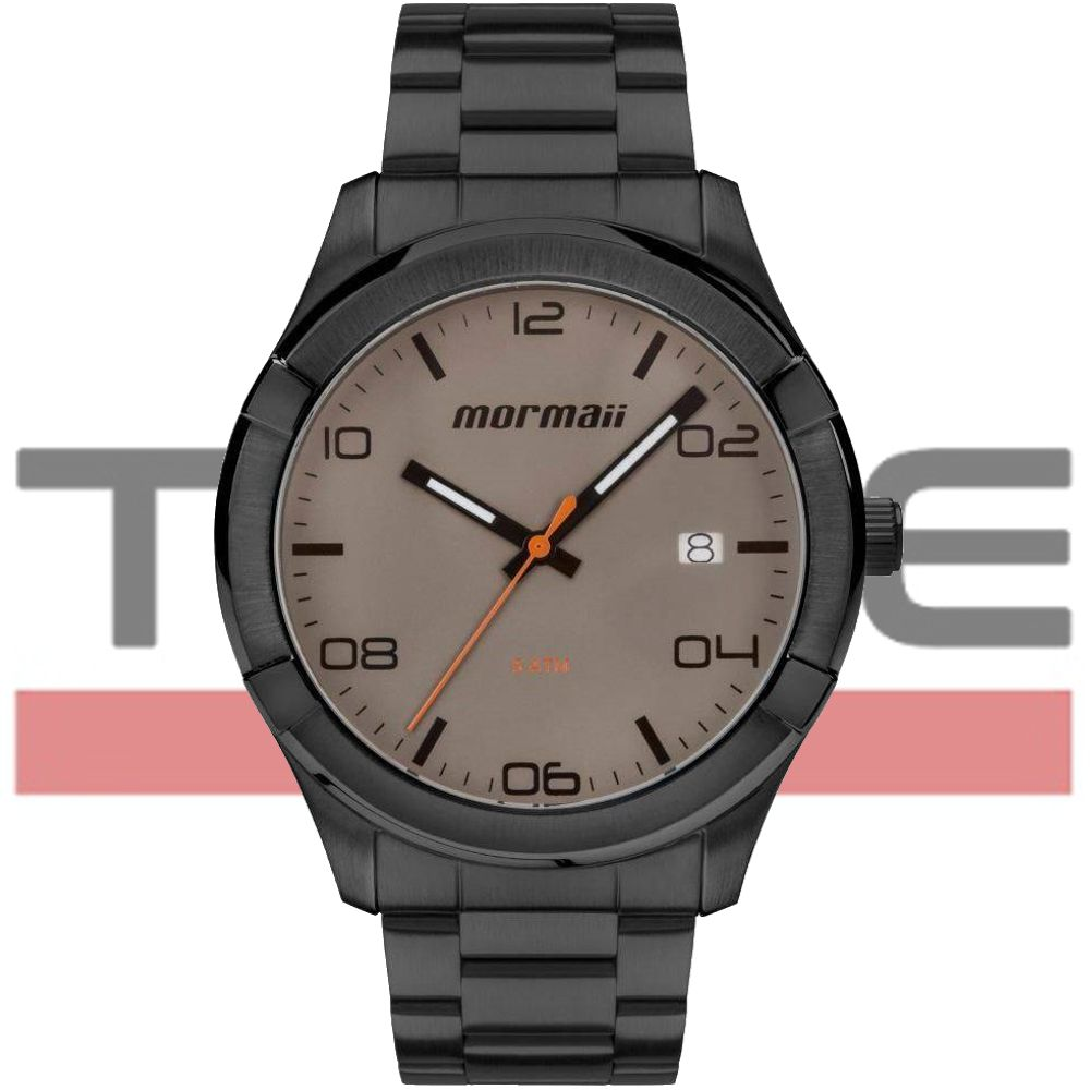 Relógio Mormaii Masculino Raízes Grafite MO2415AG/4C