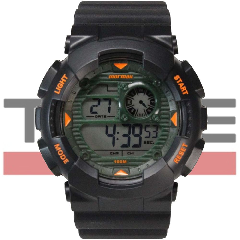Relógio Mormaii Masculino Wave Digital MO3415/8V