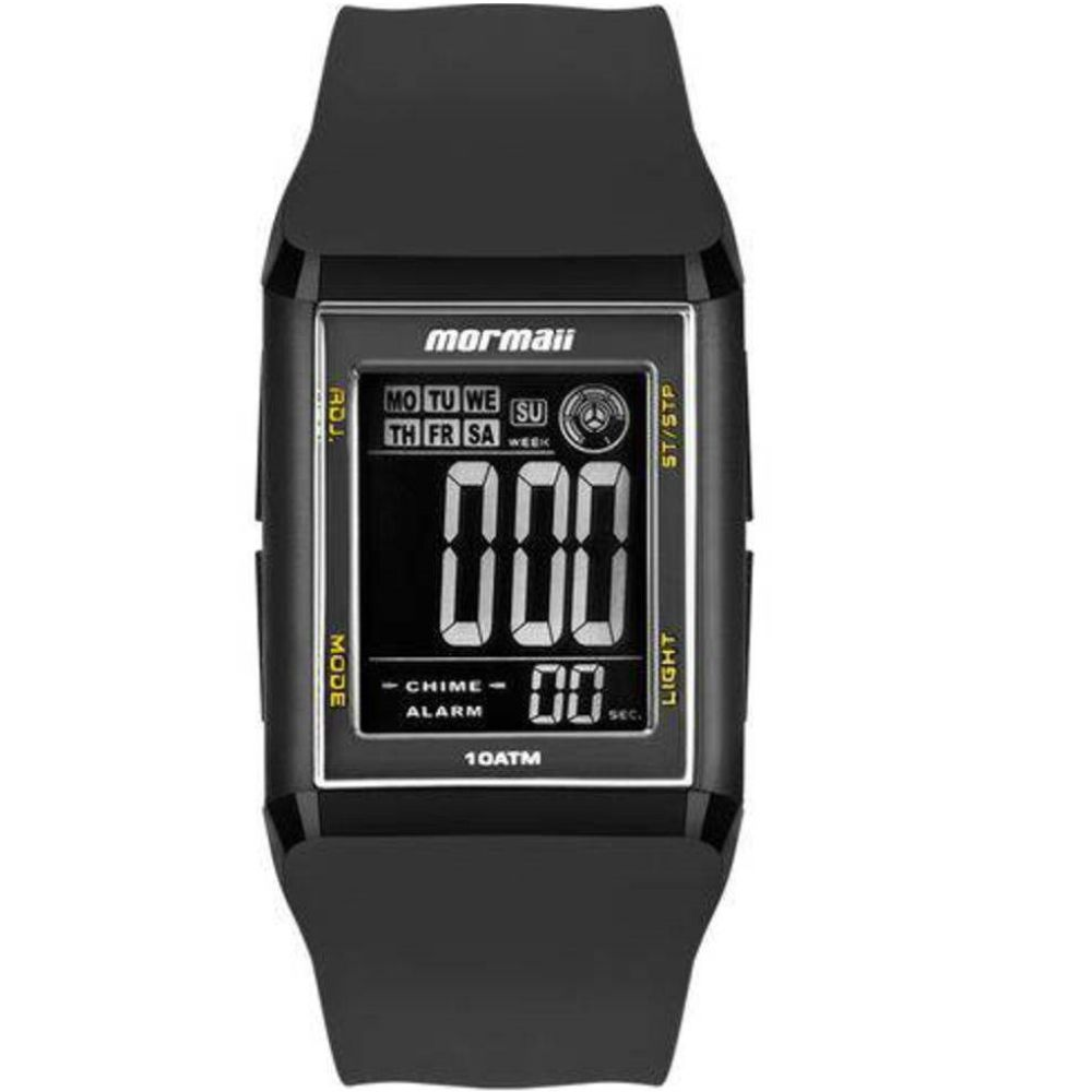 Relógio Mormaii Unissex Wave Digital MO1800/8Y Quadrado