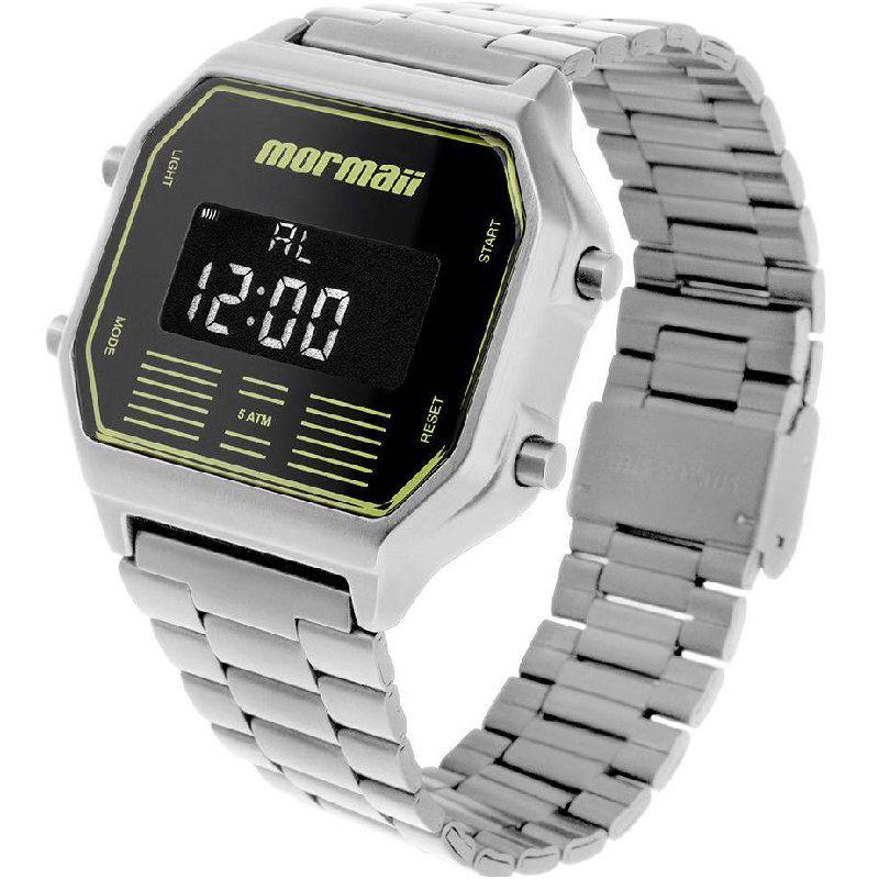 Relógio Mormaii Vintage Masculino Digital MOBJ3715B/3P