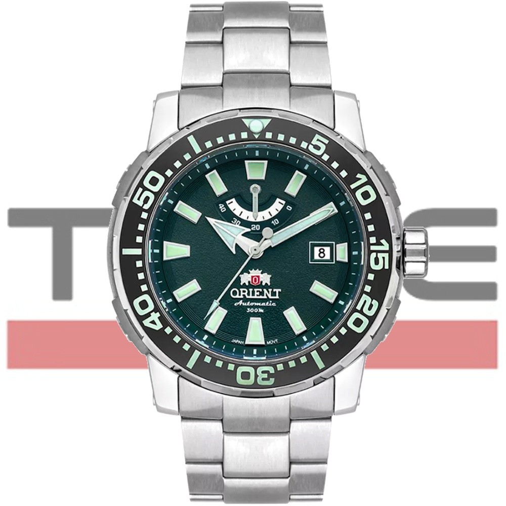 Relogio Orient Automático Poseidon Diver Ed Limitada 10 Anos Titânio YN8TT002 E1GX