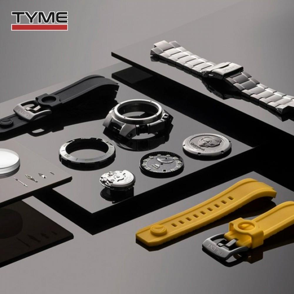 Relogio Orient Automático Seatech Edição Limitada 10 Anos Titânio YN8TT001 P1GX
