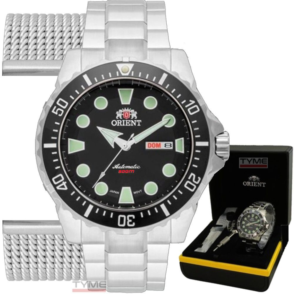 Relógio Orient Diver Netuno Automático 469SS073 P1SX