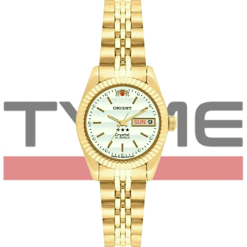 Relógio Orient Feminino Automático 559EB1X B1KX - Dourado