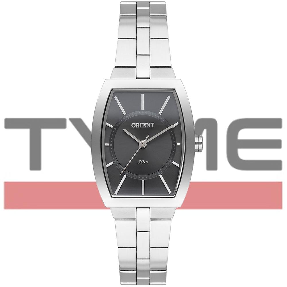 Relógio Orient Feminino LBSS0083 G1SX Quadrado Prateado