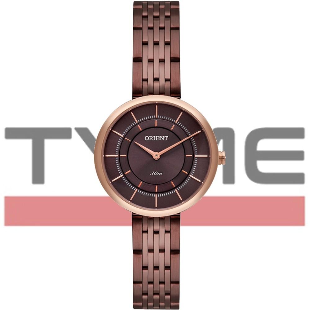 Relógio Orient Feminino Marrom FTSS0072 N1NX