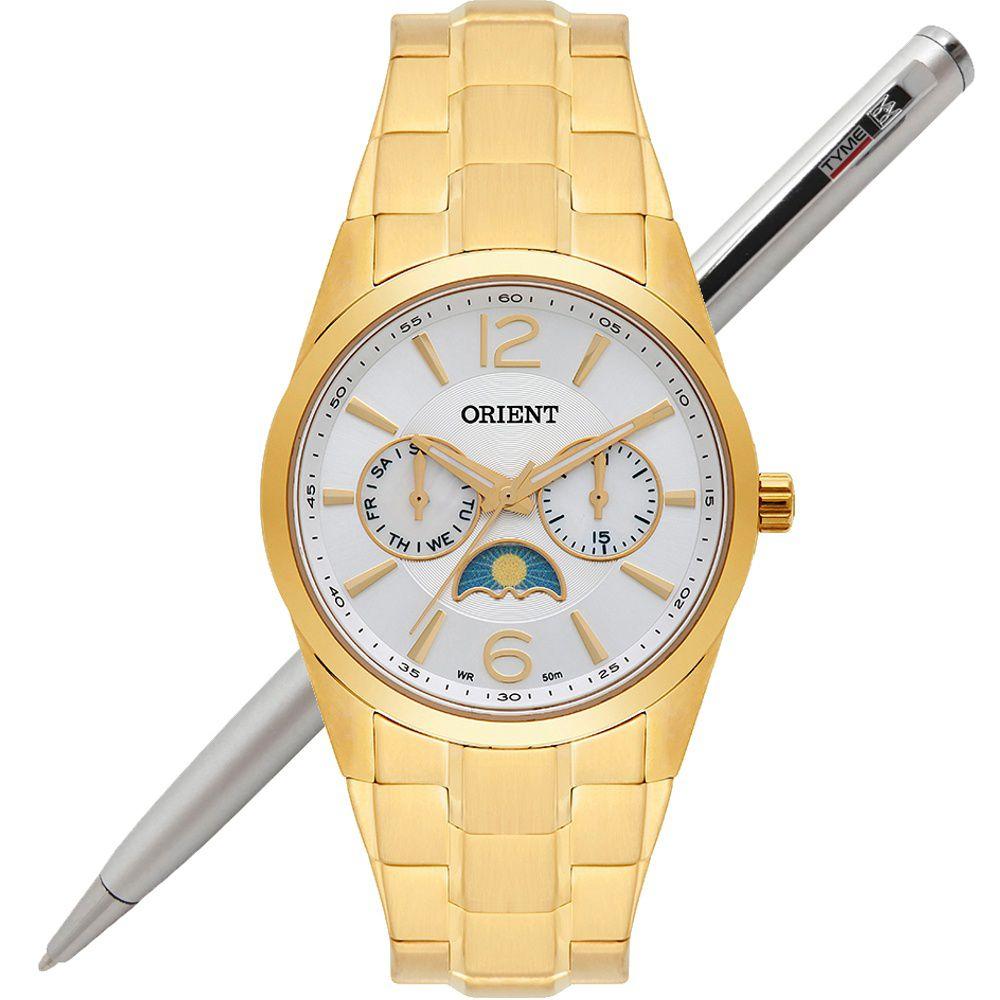 Relógio Orient Feminino Multifunção FGSSM056 S2KX