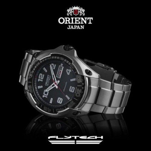 Relógio Orient Flytech Automático Titânio 469TI005 P2GX