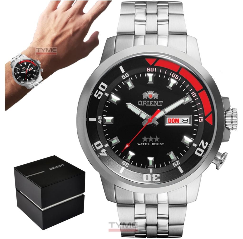Relógio Orient Masculino Automático 3 Stars 469SS058F P1SX 469SS058