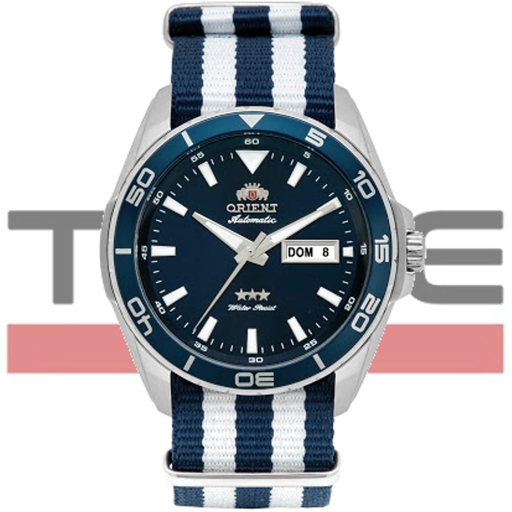 Relógio Orient Masculino Automático 3 Stars 469SS064 D1BD