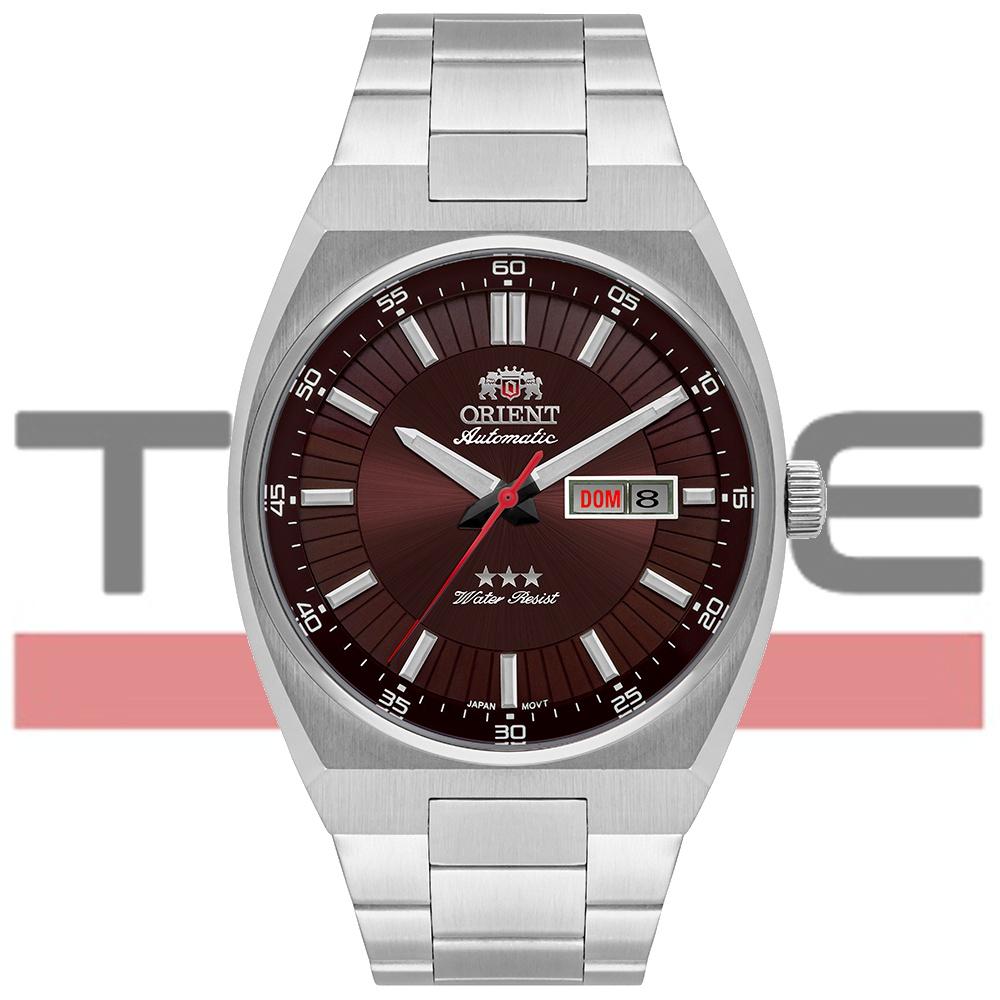 Relógio Orient Masculino Automático 3 Stars 469SS087F N1SX