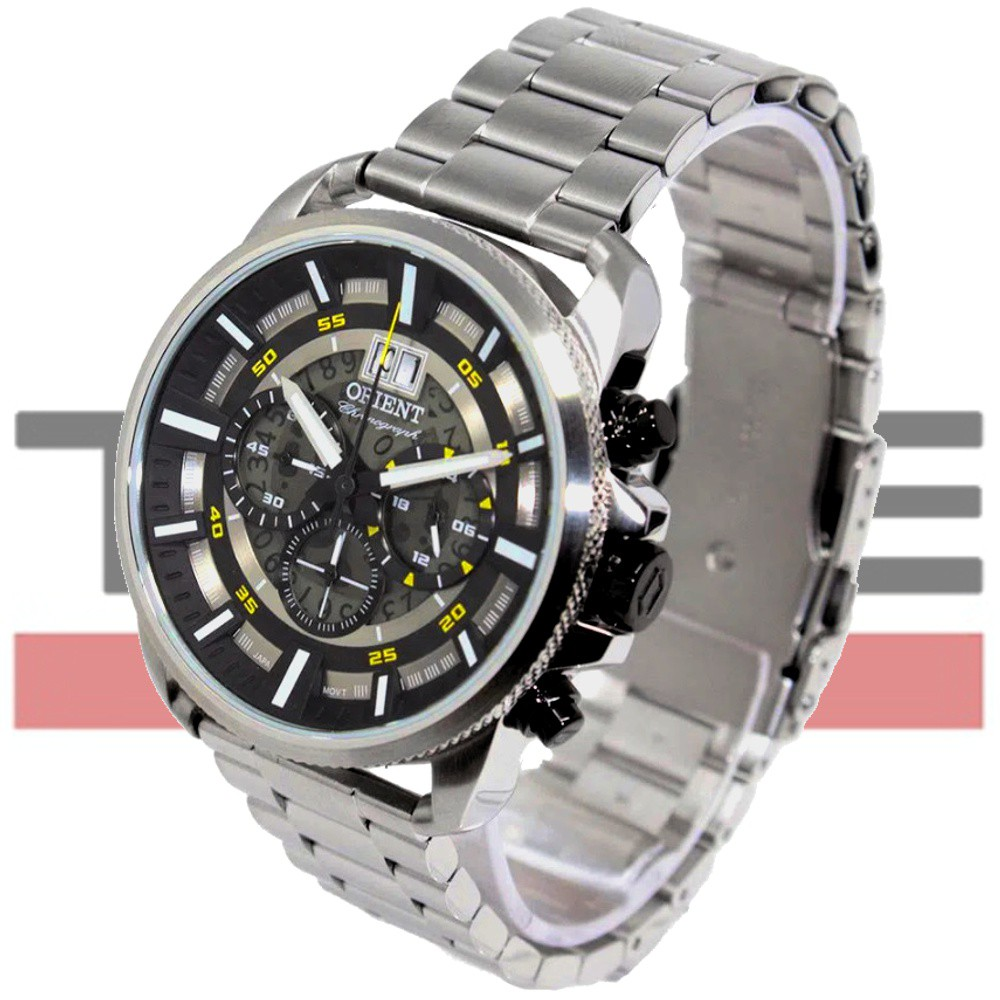 Relógio Orient Masculino Cronógrafo MBSSC203 P1SX