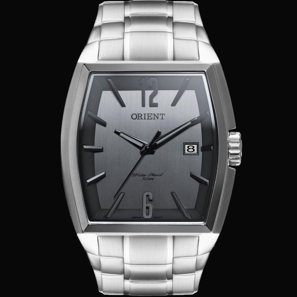 Relógio Orient Masculino GBSS1050 G2SX Quadrado Analógico