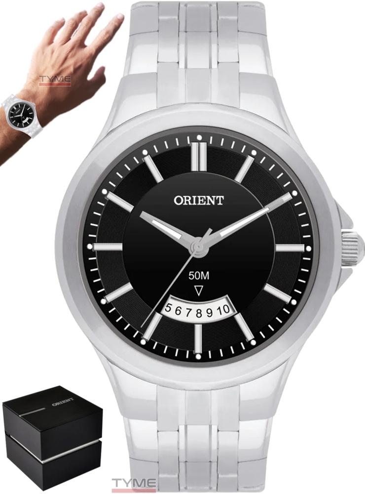Relógio Orient Masculino MBSS1118A P1SX Analógico Prateado