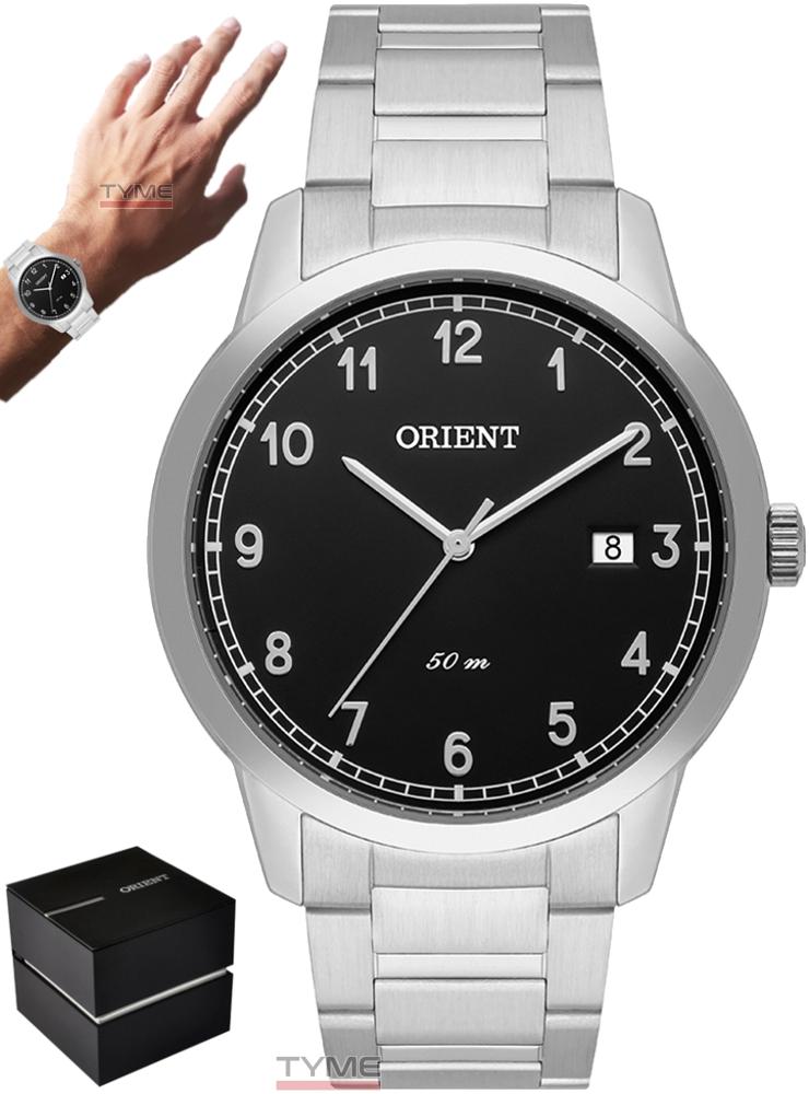 Relógio Orient Masculino MBSS1365 P2SX Analógico Prateado