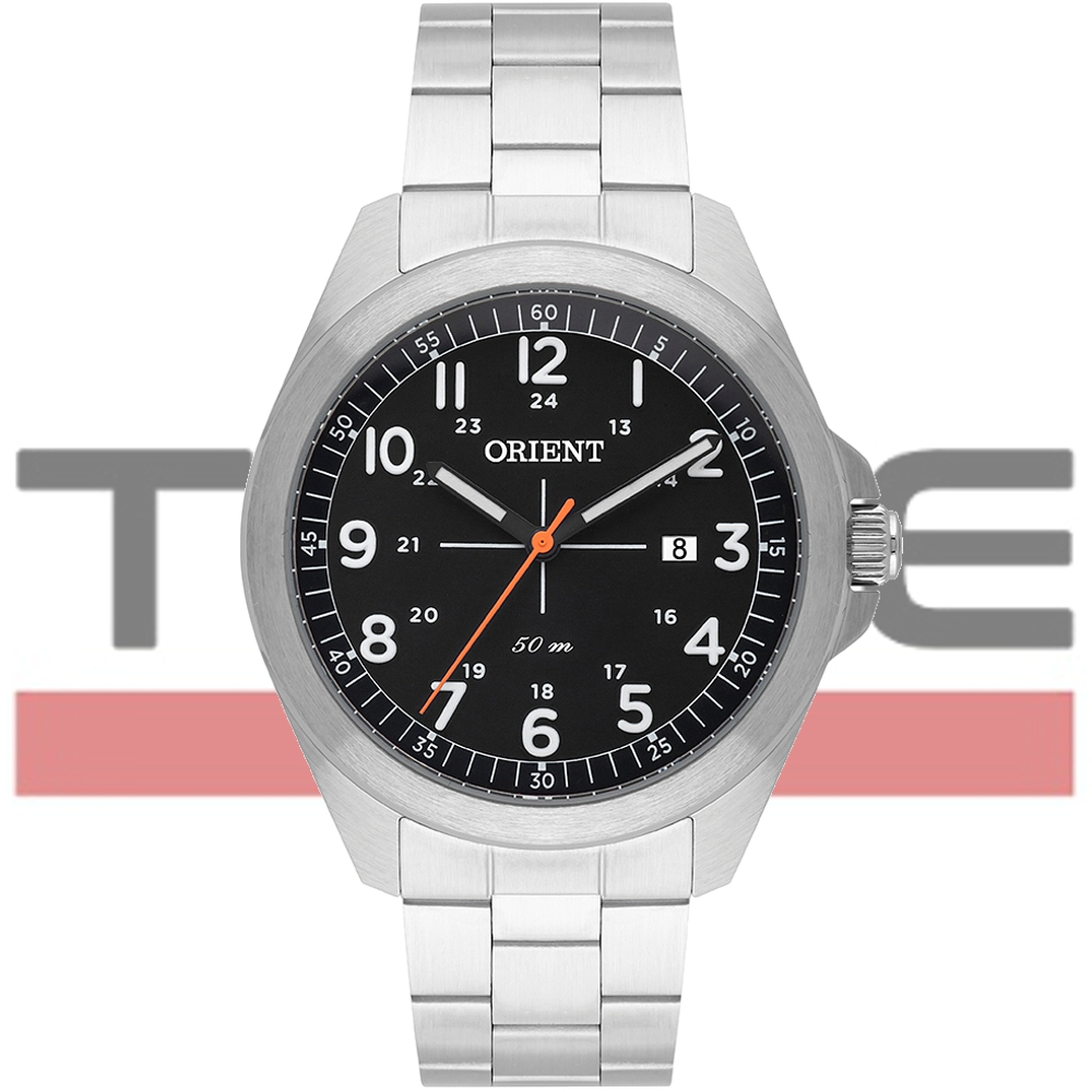 Relógio Orient Masculino MBSS1372 P2SX Analógico Prateado