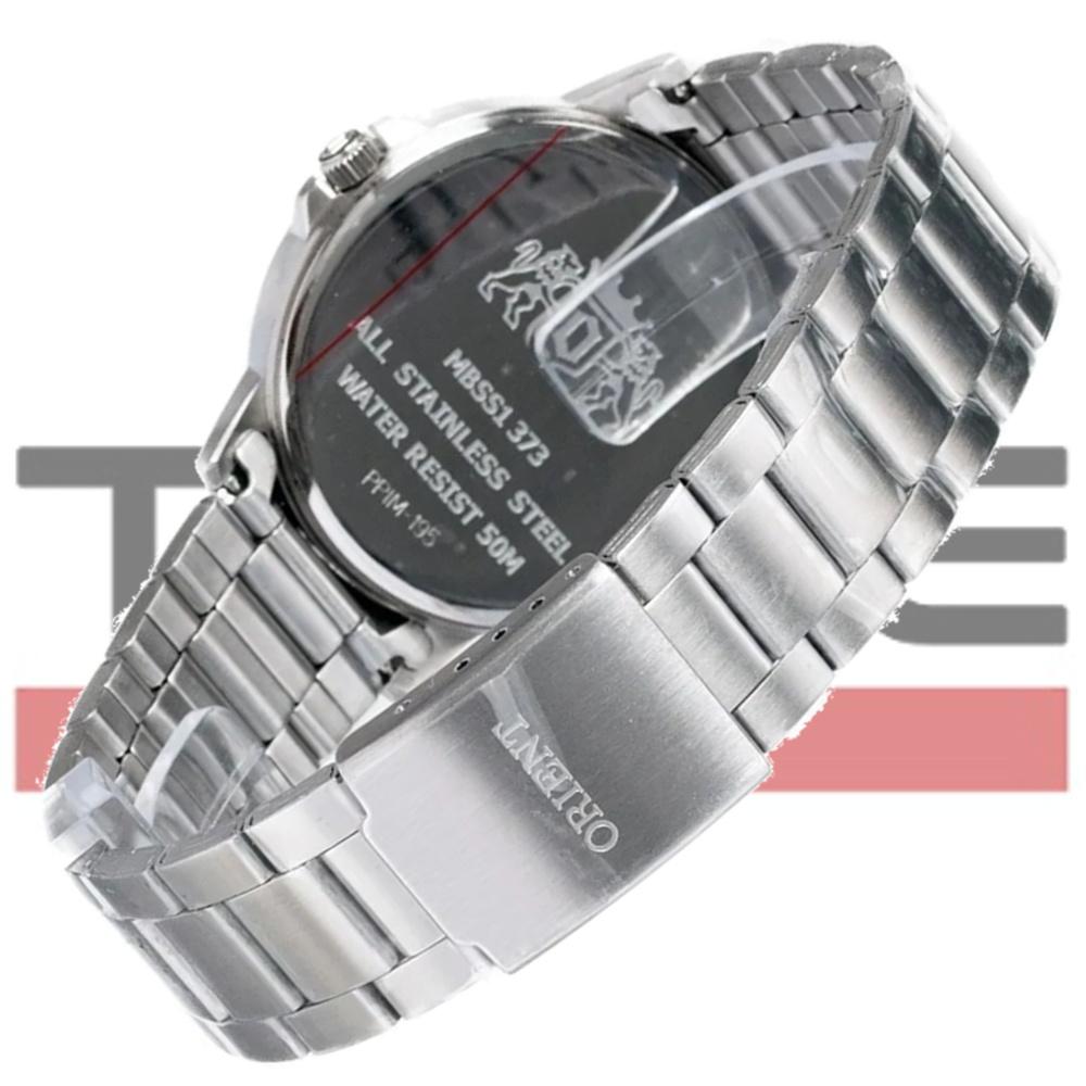 Relógio Orient Masculino MBSS1373 S2SX Analógico Prateado