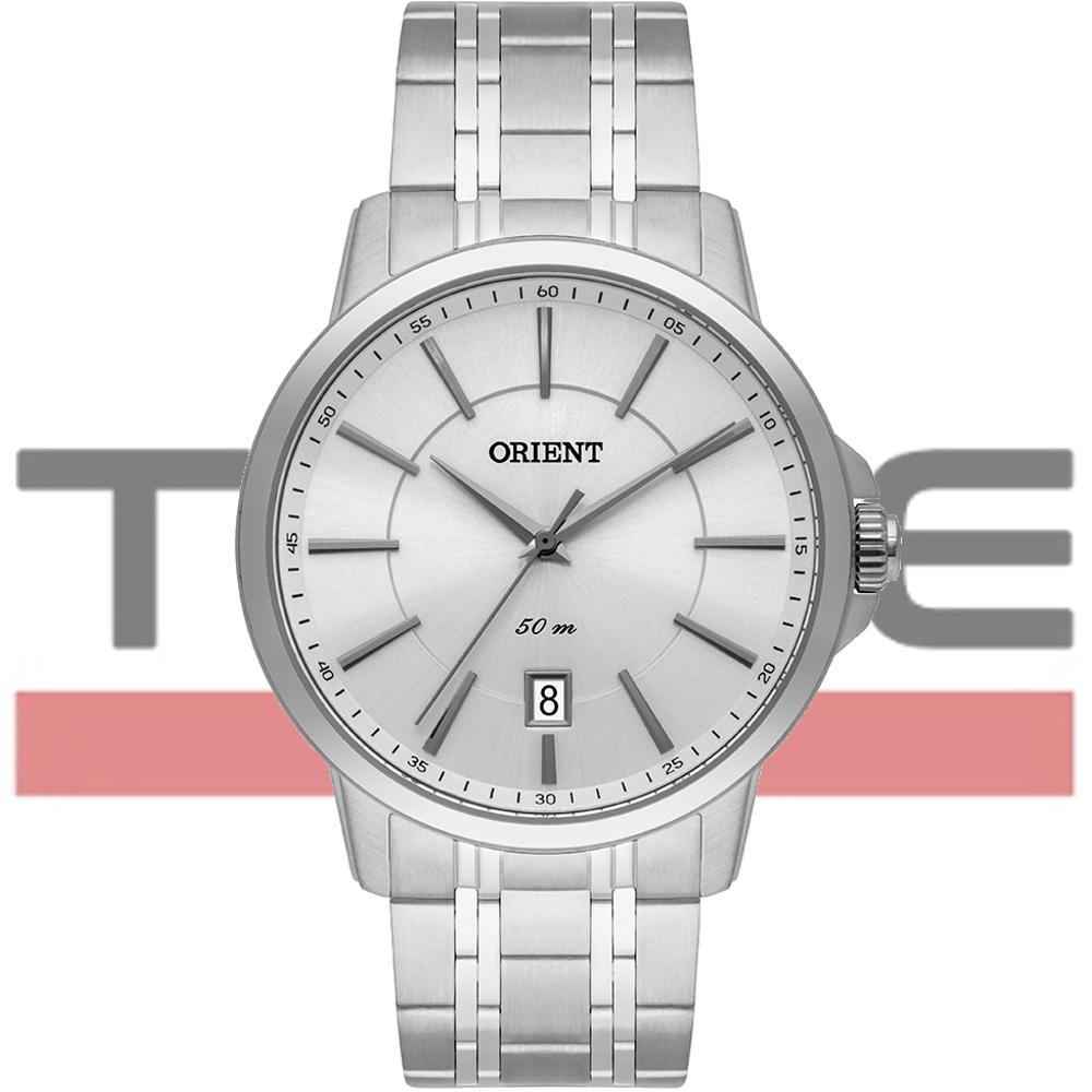 Relógio Orient Masculino MBSS1375 S1SX Analógico Prateado
