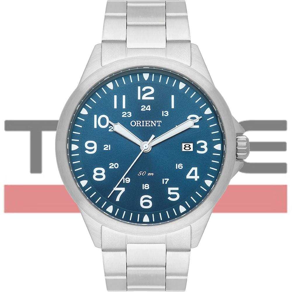Relógio Orient Masculino MBSS1380 D2SX Analógico Prateado