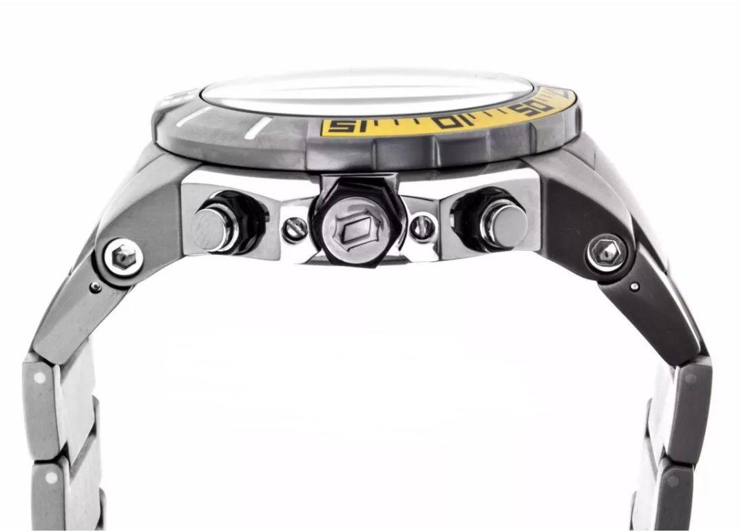 Relógio Orient Seatech Scuba Diver Titanium Masculino MBTTC003 P1PX
