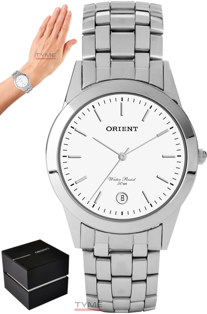 Relógio Orient Unissex MBSS1004A B1SX Prateado