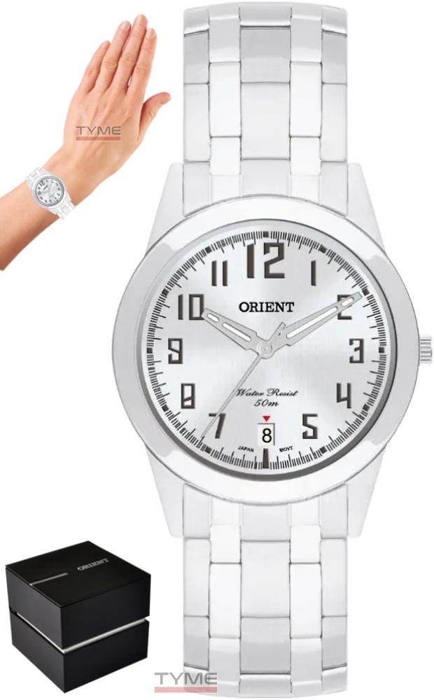 Relógio Orient Unissex MBSS1132A S2SX Análogo Prateado