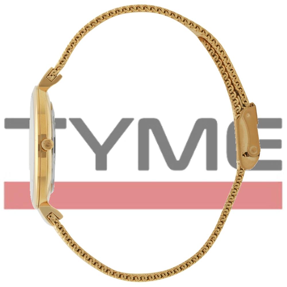 Relógio Oslo Feminino Slim Safira Dourado OFGSSS9T0001 S1KX