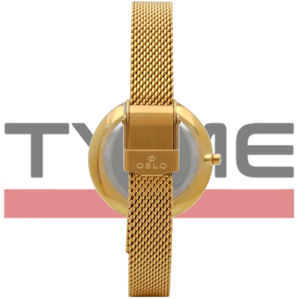 Relógio Oslo Feminino Slim Safira Dourado OFGSSS9T0002 B1KX