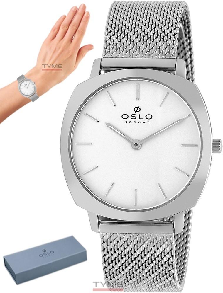Relógio Oslo Feminino Slim Safira Prateado OFBSSS9T0009 S1SX