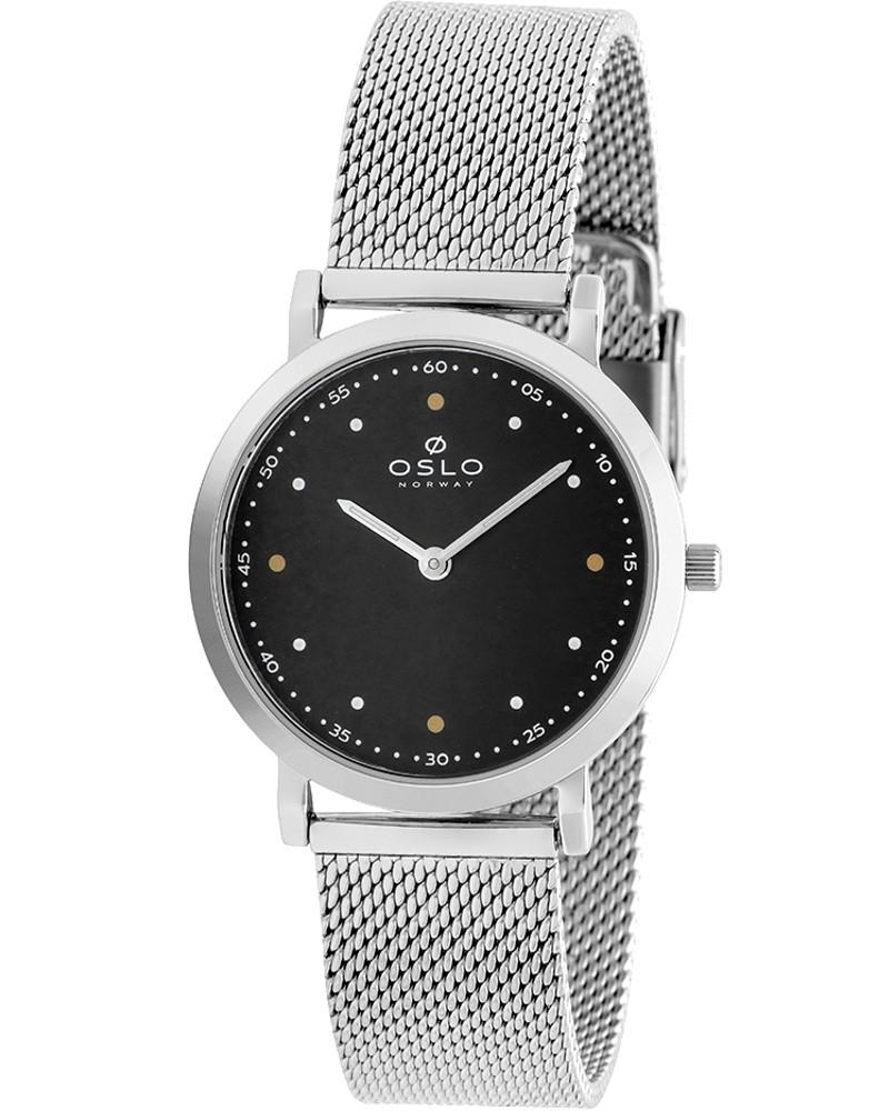 Relógio Oslo Feminino Slim Safira Prateado OFBSSS9T0011 P1SX
