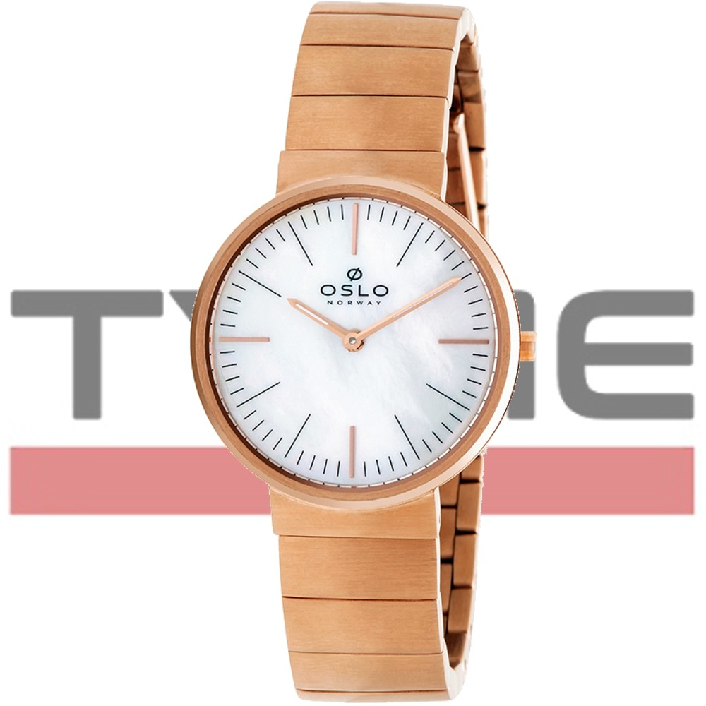 Relógio Oslo Feminino Slim Safira Rose OFRSSS9T0007 B1RX