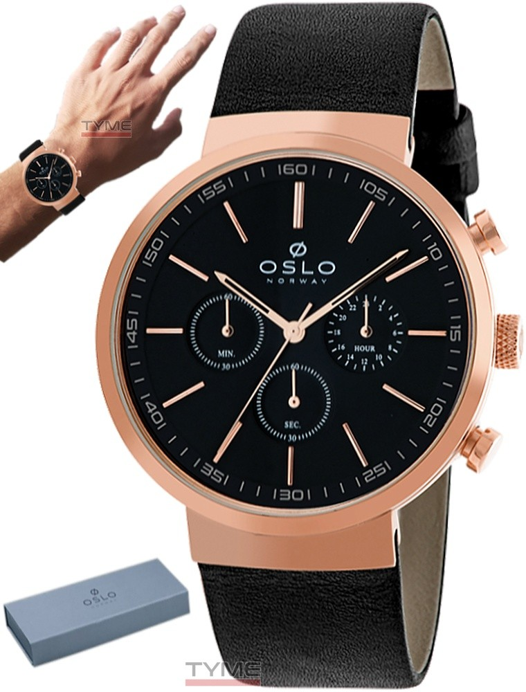 Relógio Oslo Masculino Cronógrafo Safira OMRSCCVD0001 P1PX