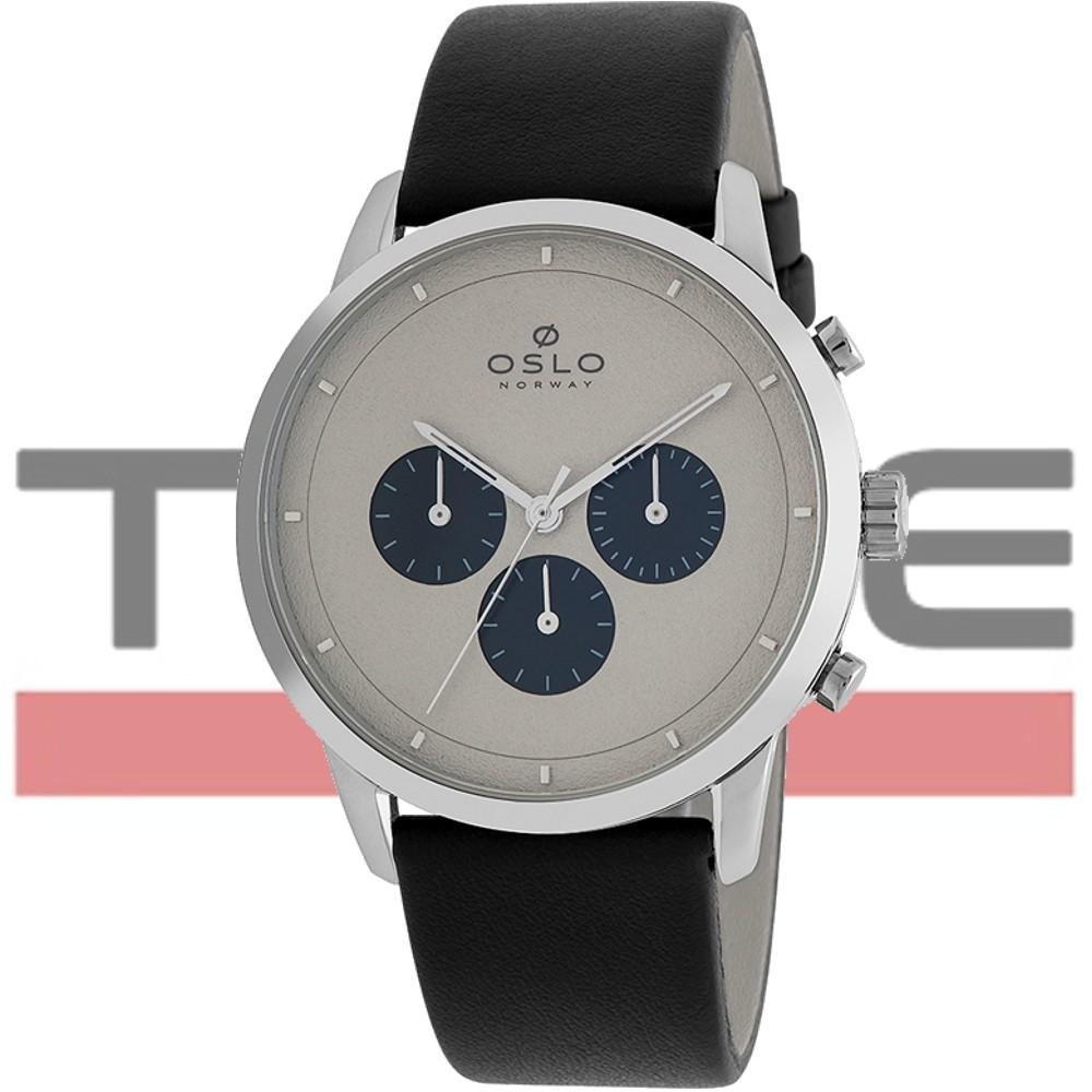Relógio Oslo Masculino Slim Safira Cronógrafo OMBSCCVD0001 I1PX