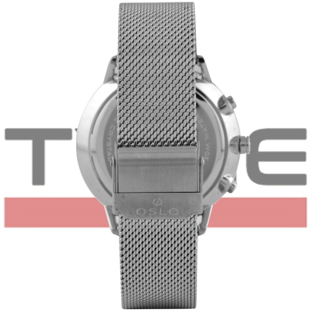 Relógio Oslo Masculino Slim Safira Cronógrafo OMBSSCVD0004 D1SX