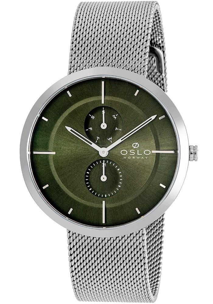 Relógio Oslo Masculino Slim Safira Multifunção OMBSSMVX0001 E1SX
