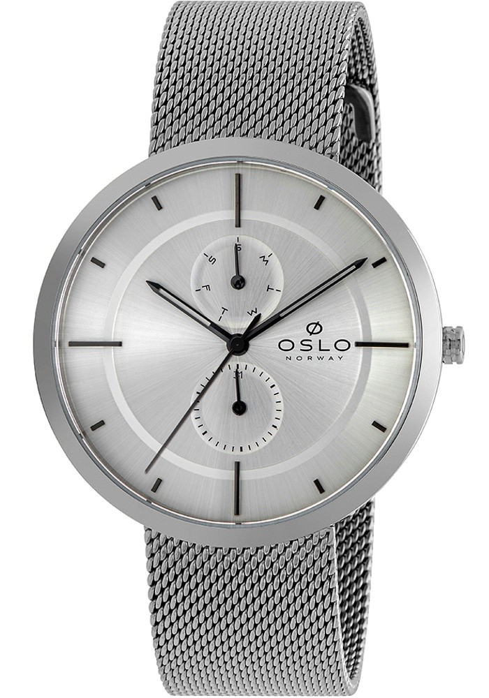 Relógio Oslo Masculino Slim Safira Multifunção OMBSSMVX0001 S1SX