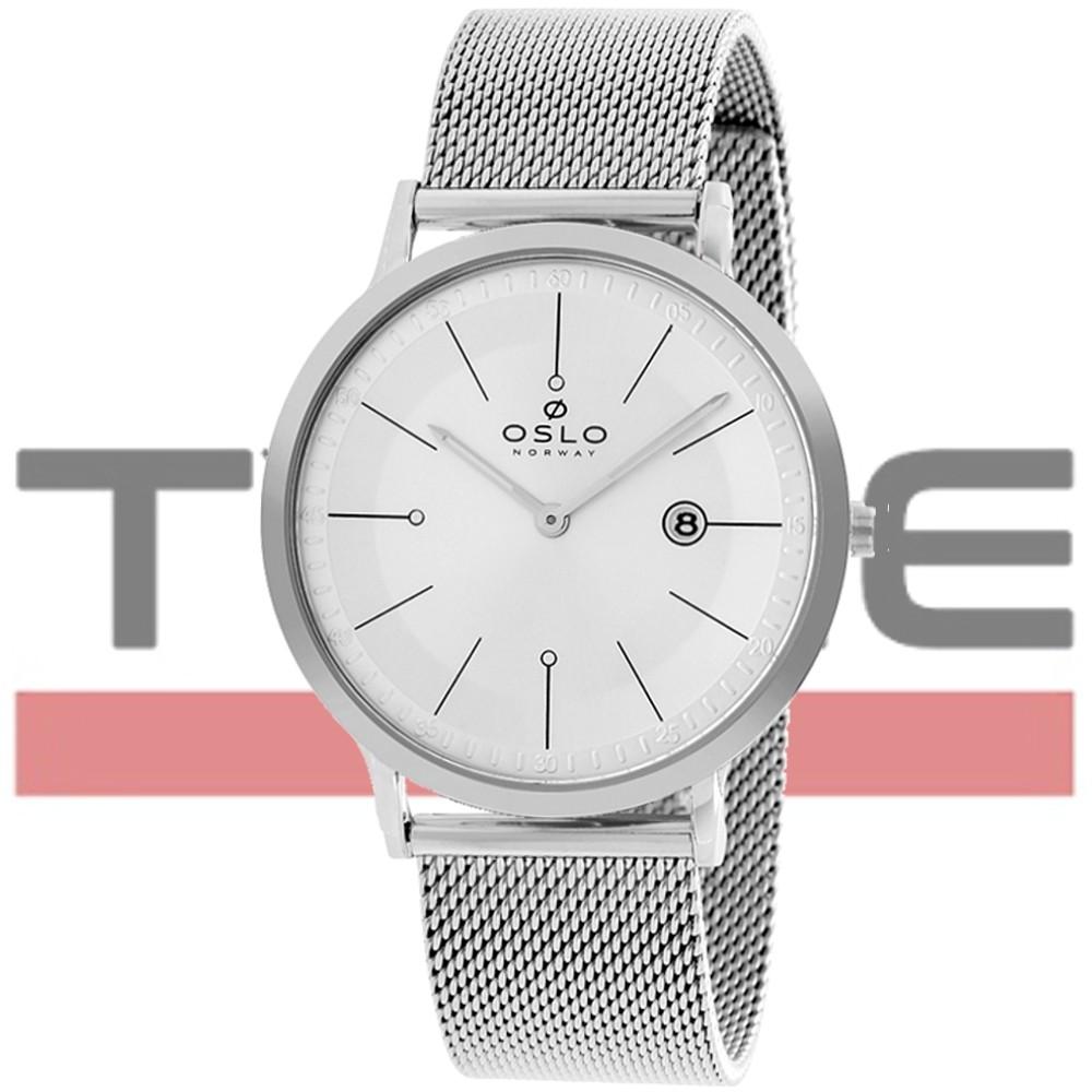 Relógio Oslo Masculino Slim Safira OMBSCS9UO003 S1PX - Box Especial