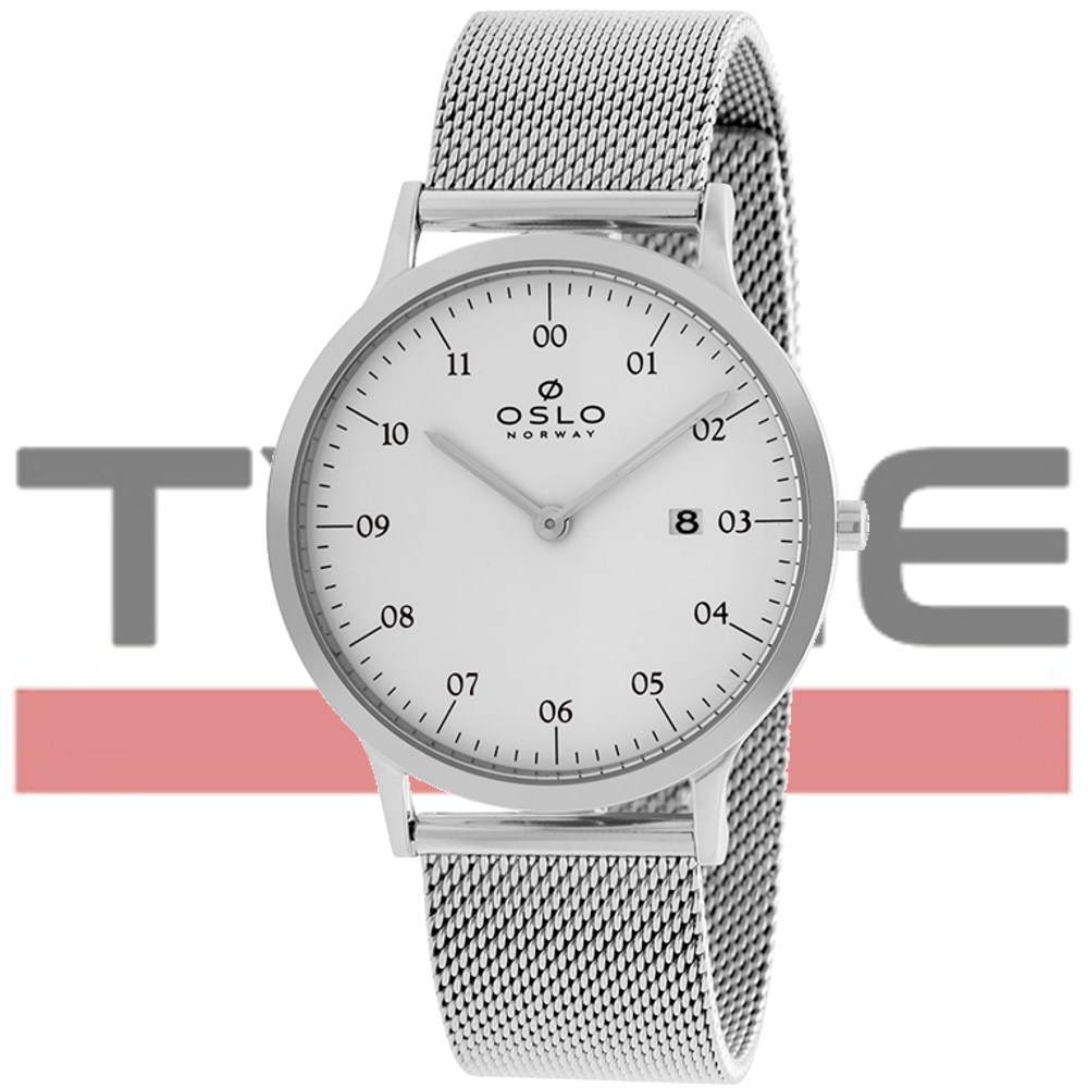 Relógio Oslo Masculino Slim Safira OMBSSS9U0002 S2SX