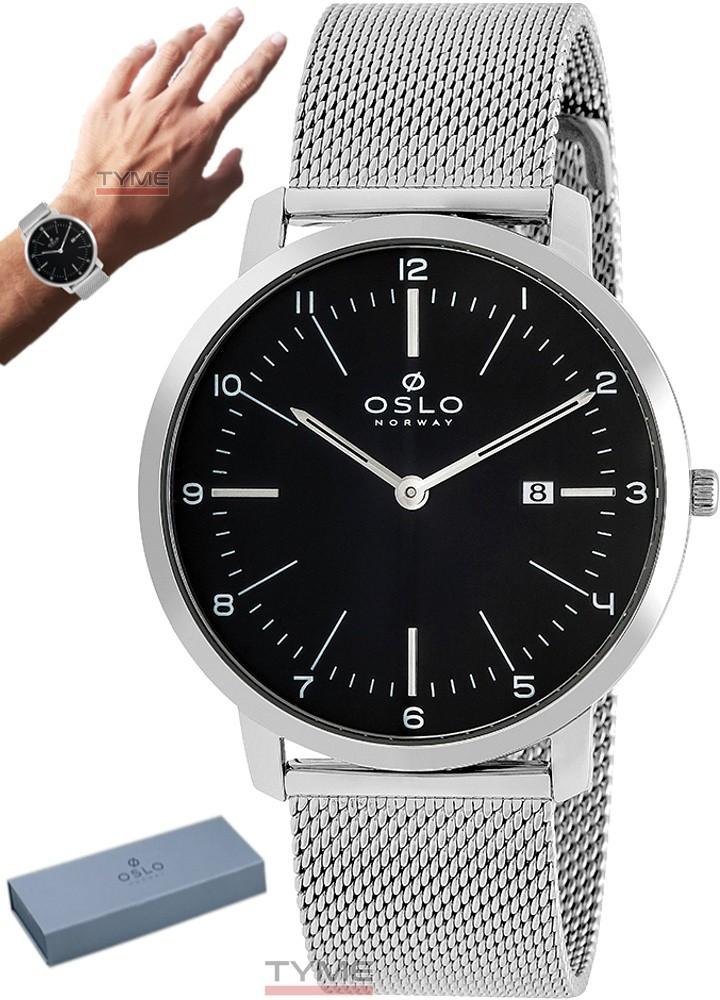 Relógio Oslo Masculino Slim Safira OMBSSS9U0008 P2SX