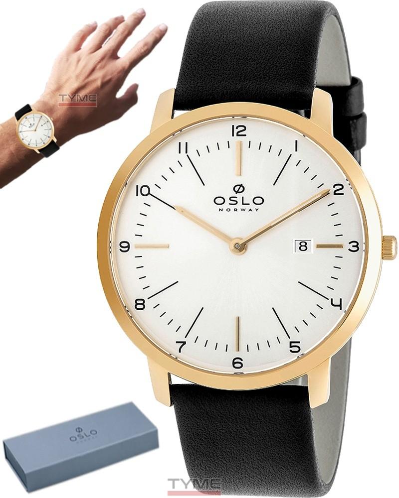 Relógio Oslo Masculino Slim Safira OMGSCS9U0002 S2PX