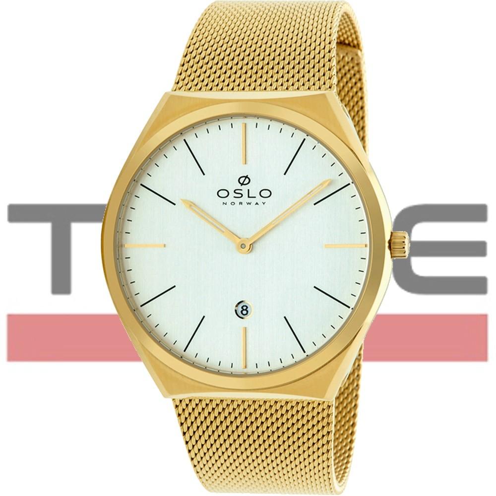 Relógio Oslo Masculino Slim Safira OMGSSS9U0005 S1KX