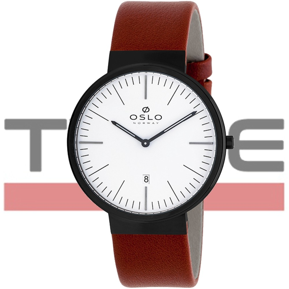 Relógio Oslo Masculino Slim Safira OMPSCS9U0001 B1MX