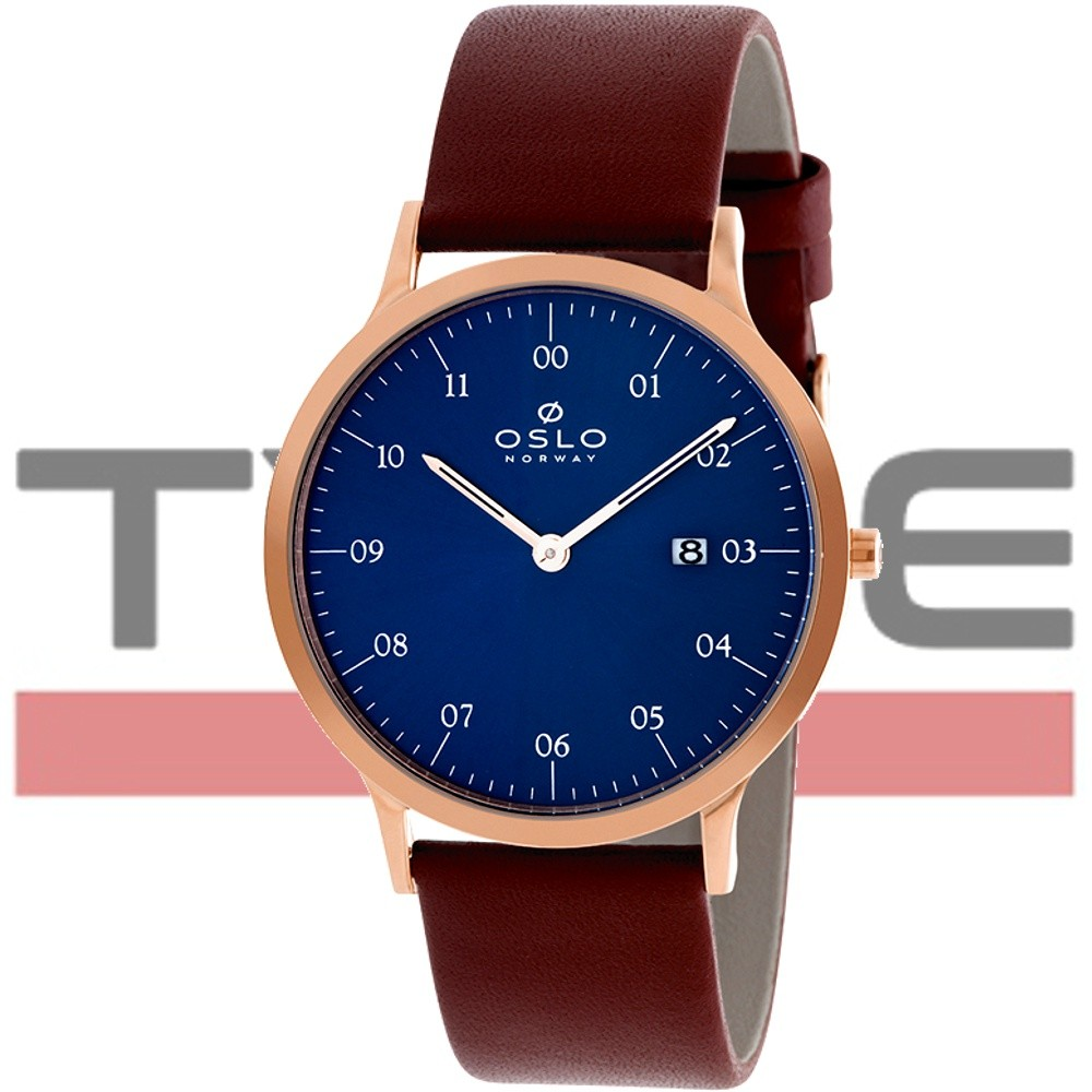 Relógio Oslo Masculino Slim Safira OMRSCS9U0002 D1MX