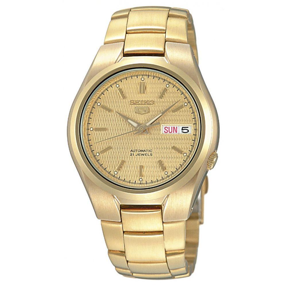 Relógio Seiko 5 Automático Masculino Dourado SNK610B1 C1KX