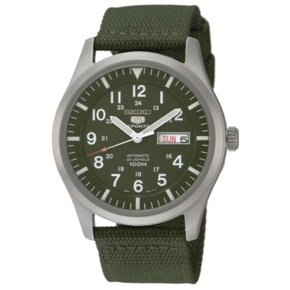 Relógio Seiko 5 Automático Militar Masculino SNZG09B1 E2EX