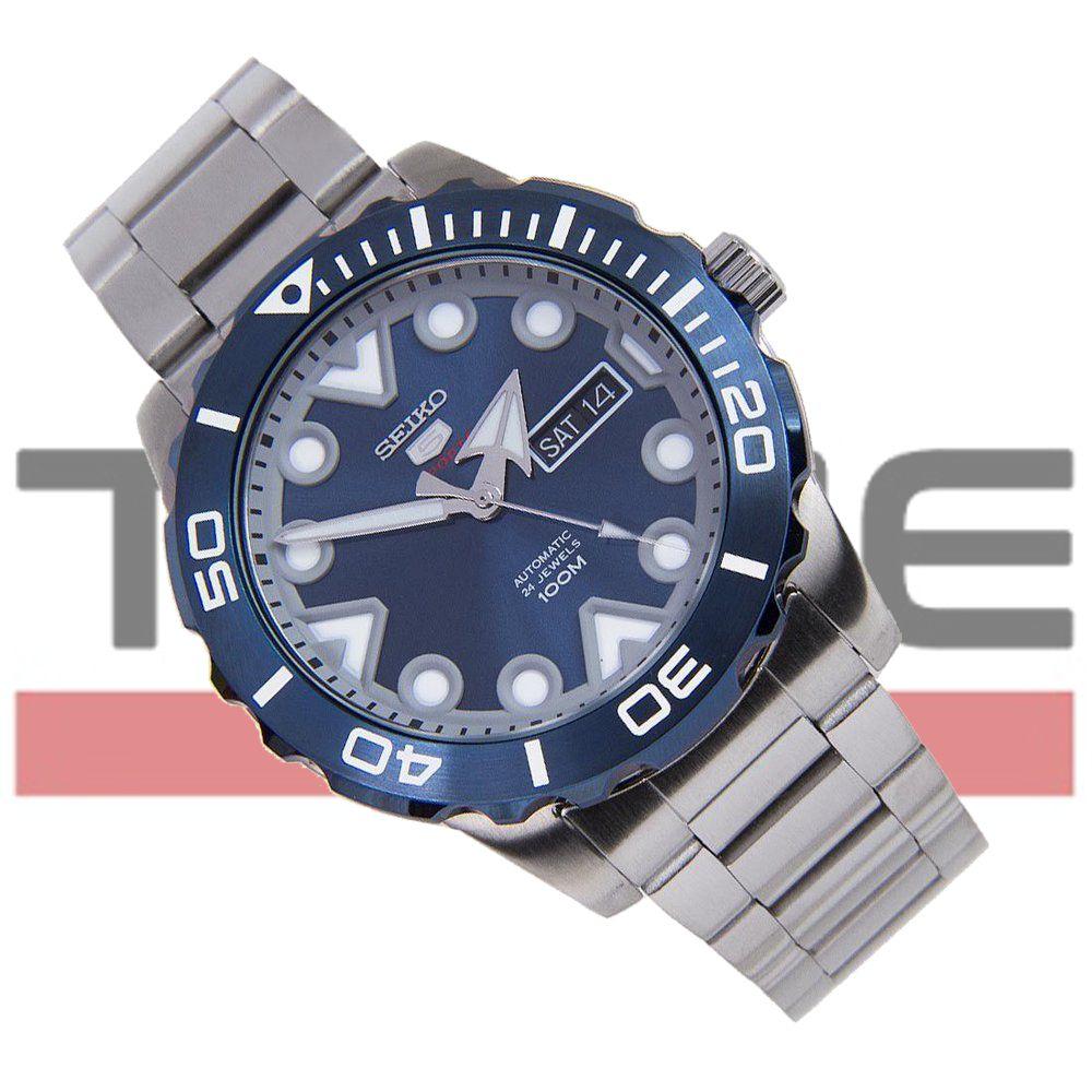 Relógio Seiko 5 Sports Automático Masculino SRPA09B1 D1SX