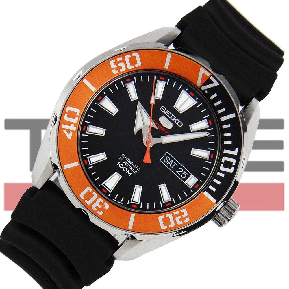 Relógio Seiko 5 Sports Automático Masculino SRPC59B1 P1PX