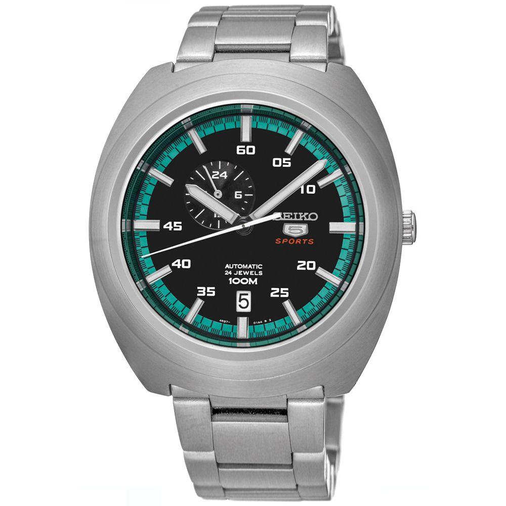 Relógio Seiko 5 Sports Automático Masculino SSA283B1 PFSX