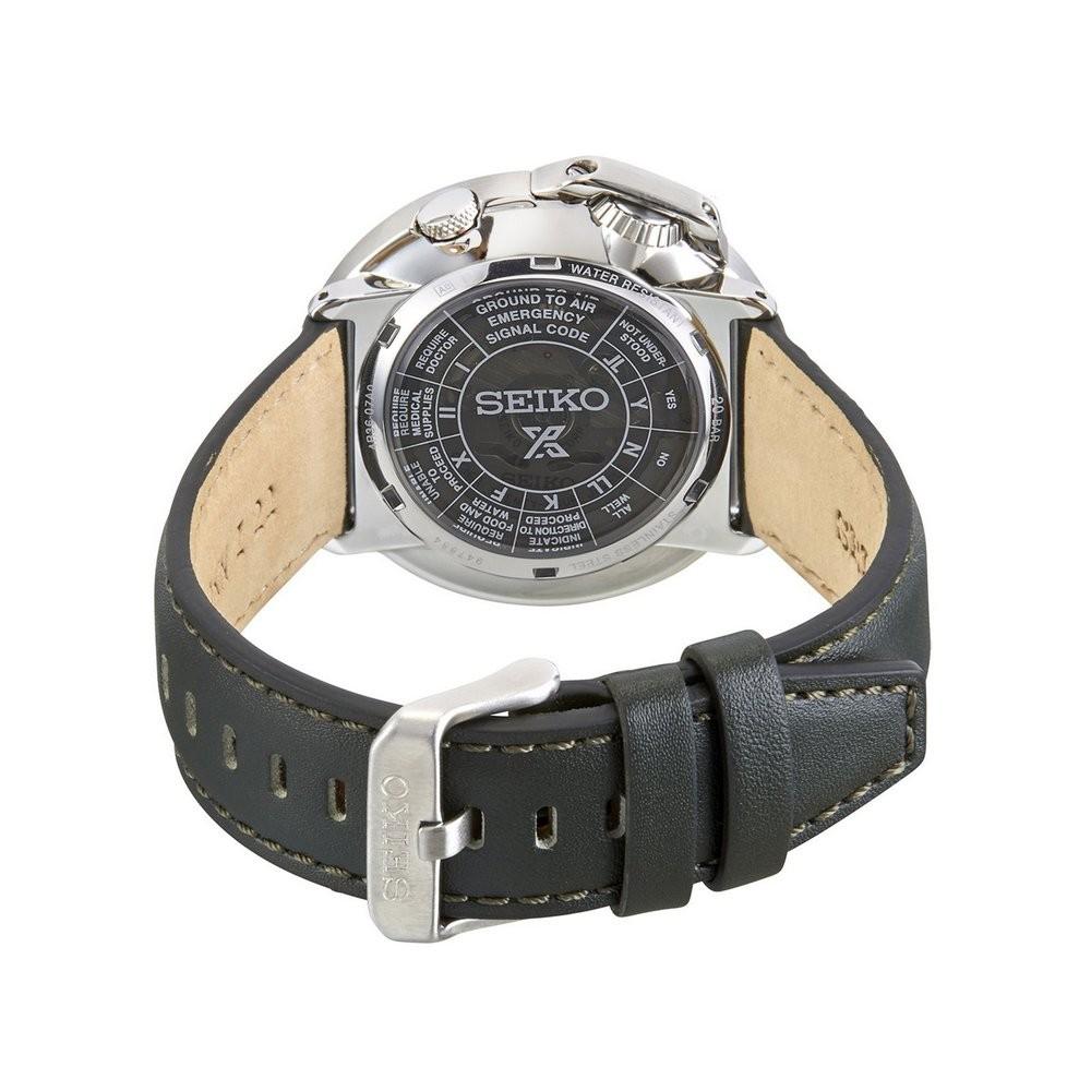 Relógio Seiko Prospex Field Compass Land Green SRPD33K1 E2EX