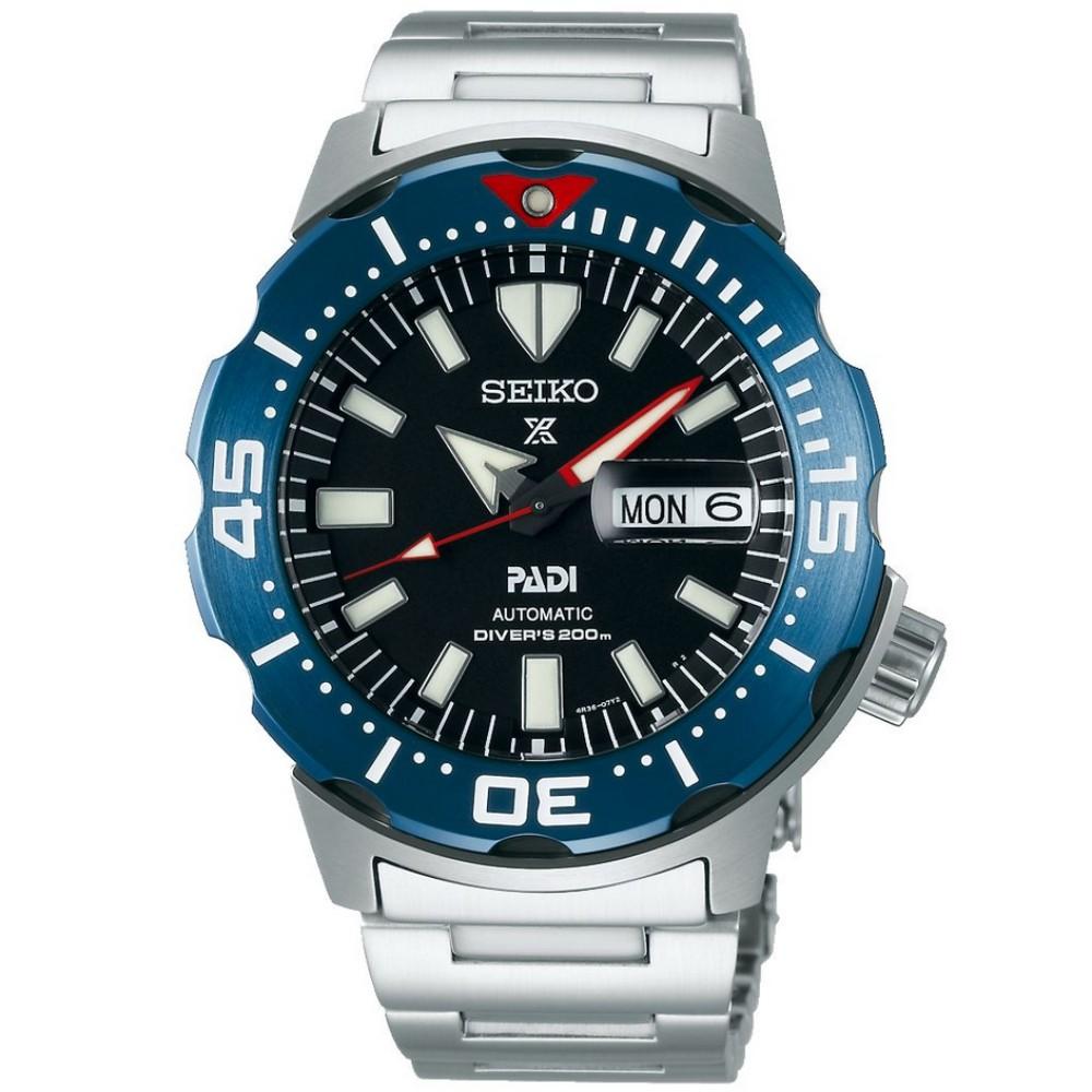 Relógio Seiko Prospex Monster Padi 4th Geração SRPE27K1 P1SX